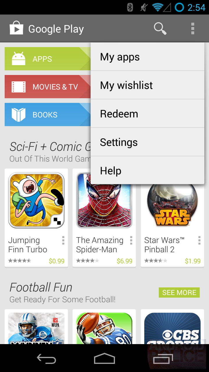 Exclusive next android play store app 4 4 will switch to Play app