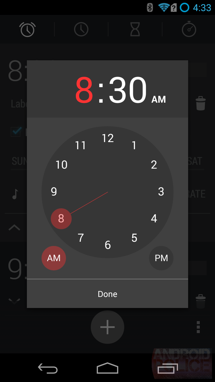 APK Download: Android 4 4 Clock/Alarm/Timer/Stopwatch App With Fixed