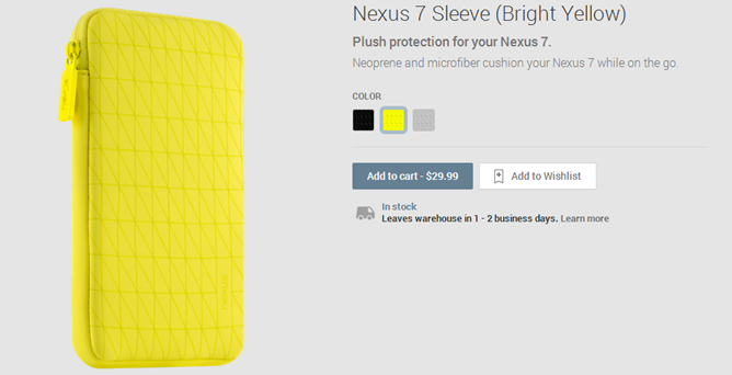 2013-11-06 13_20_31-Nexus 7 Sleeve (Bright Yellow) - Devices on Google Play