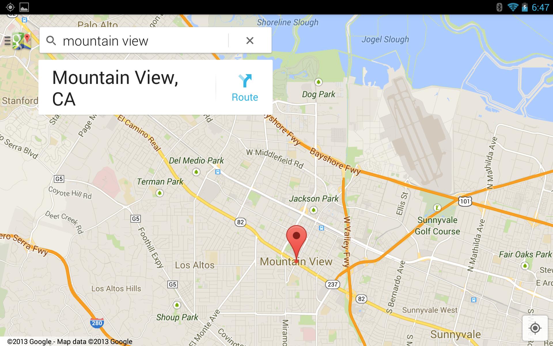 Touch Screen Version Of Google Maps Nexusae