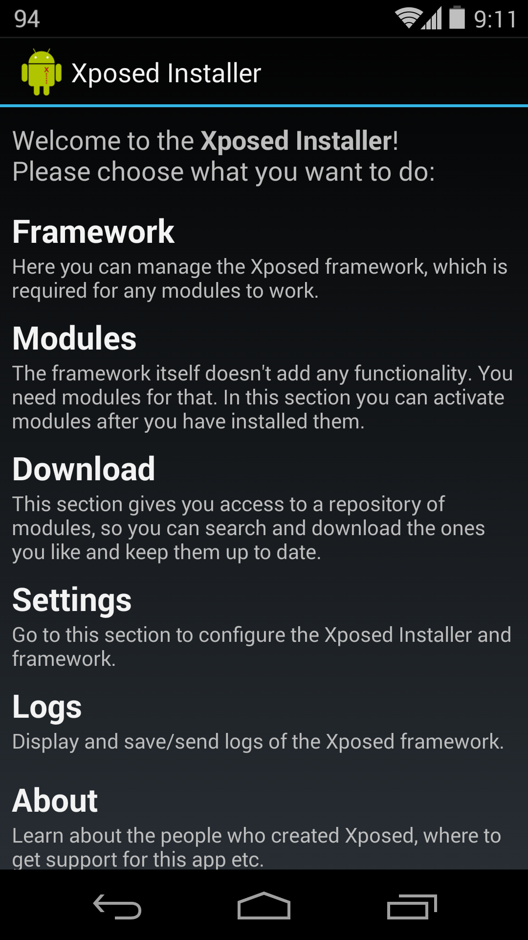 Xposed Framework 2.4 Beta 1 Adds Support For KitKat And Performance Improvements