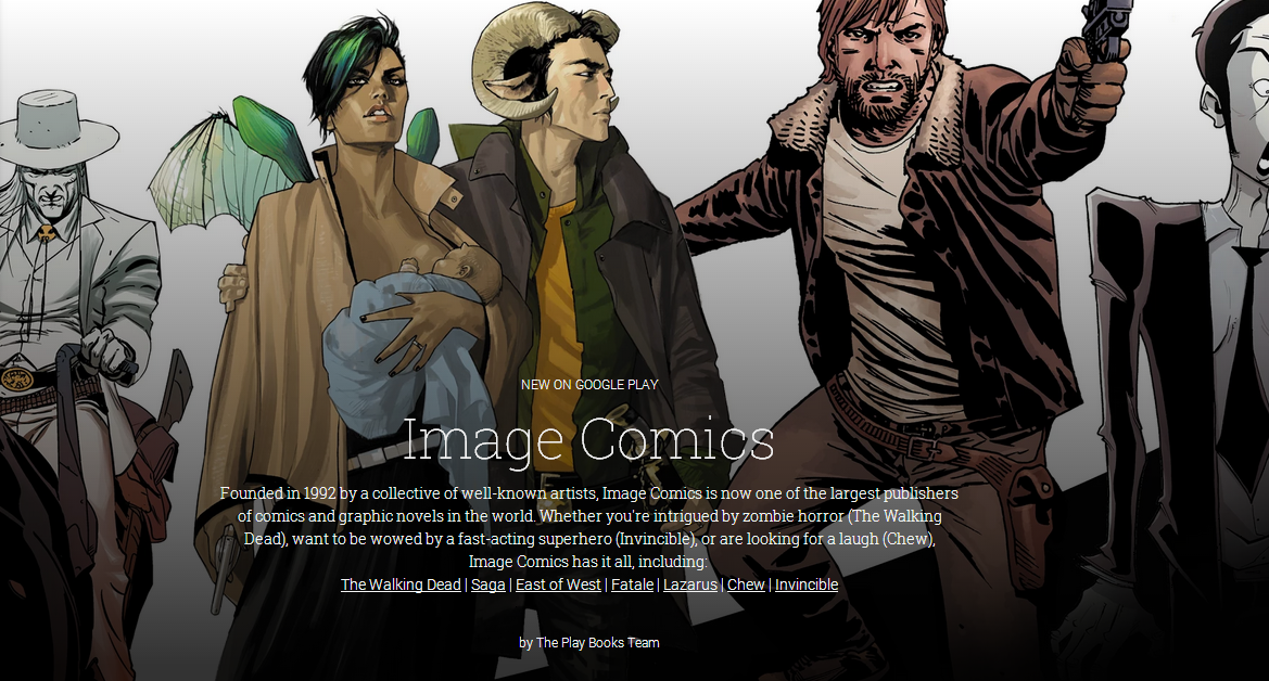 The Walking Dead And Other Image Comics Now Available On Google Play