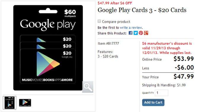 2013-11-29 13_10_15-Google Play Cards 3 - $20 Cards