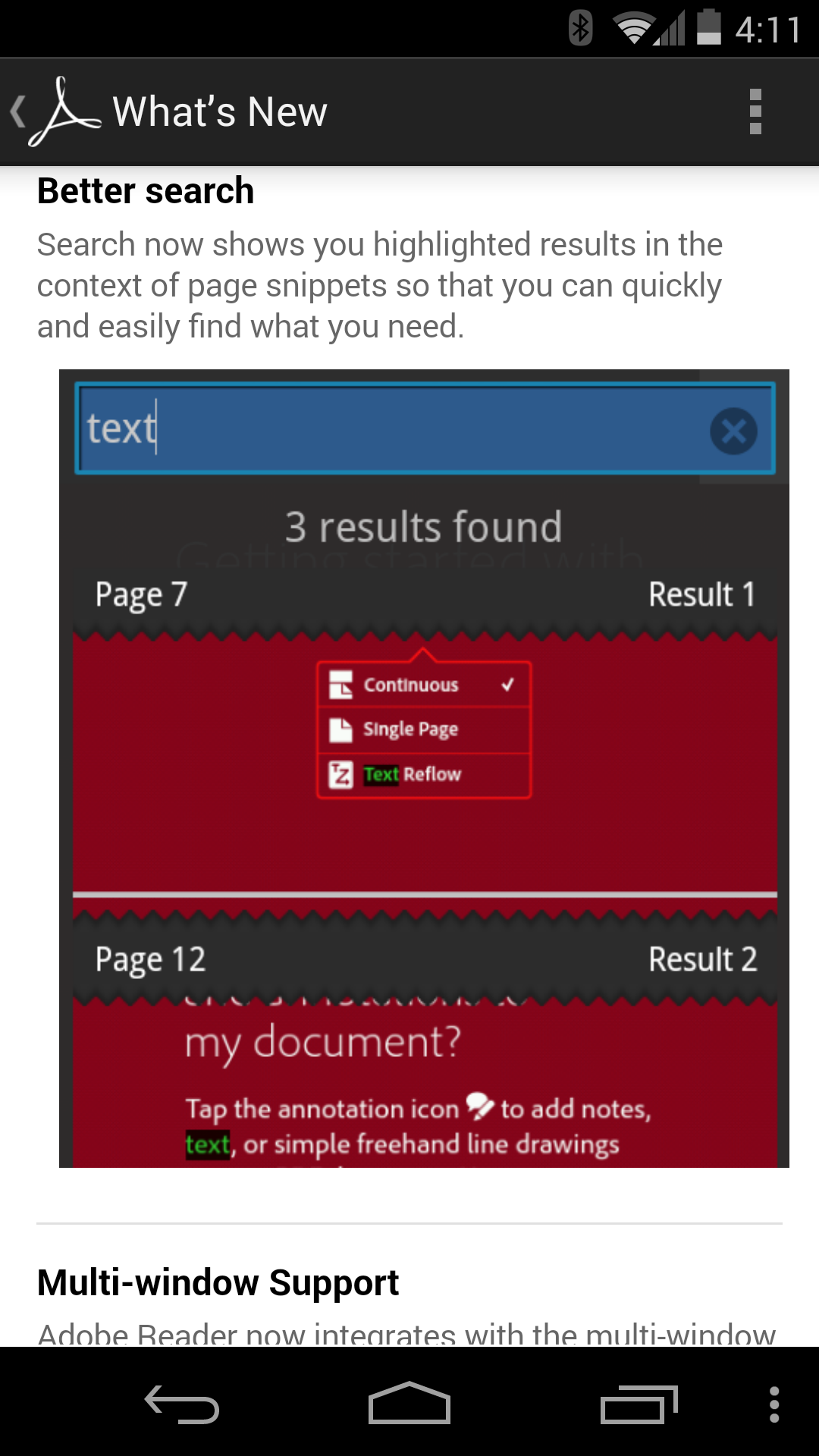 Adobe Reader For Android Updated To Version 11.1, Now Has New PDF ...