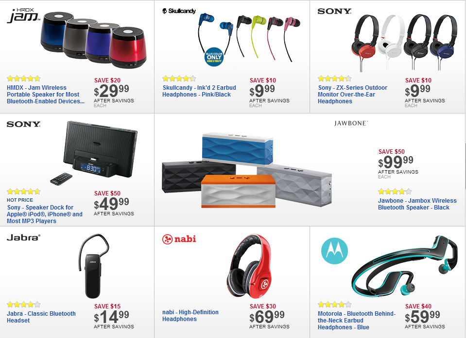 Best Buy Releases Early Look At Black Friday Deals Offers Discounted Smartphones Tablets Bluetooth Speakers And So Much More