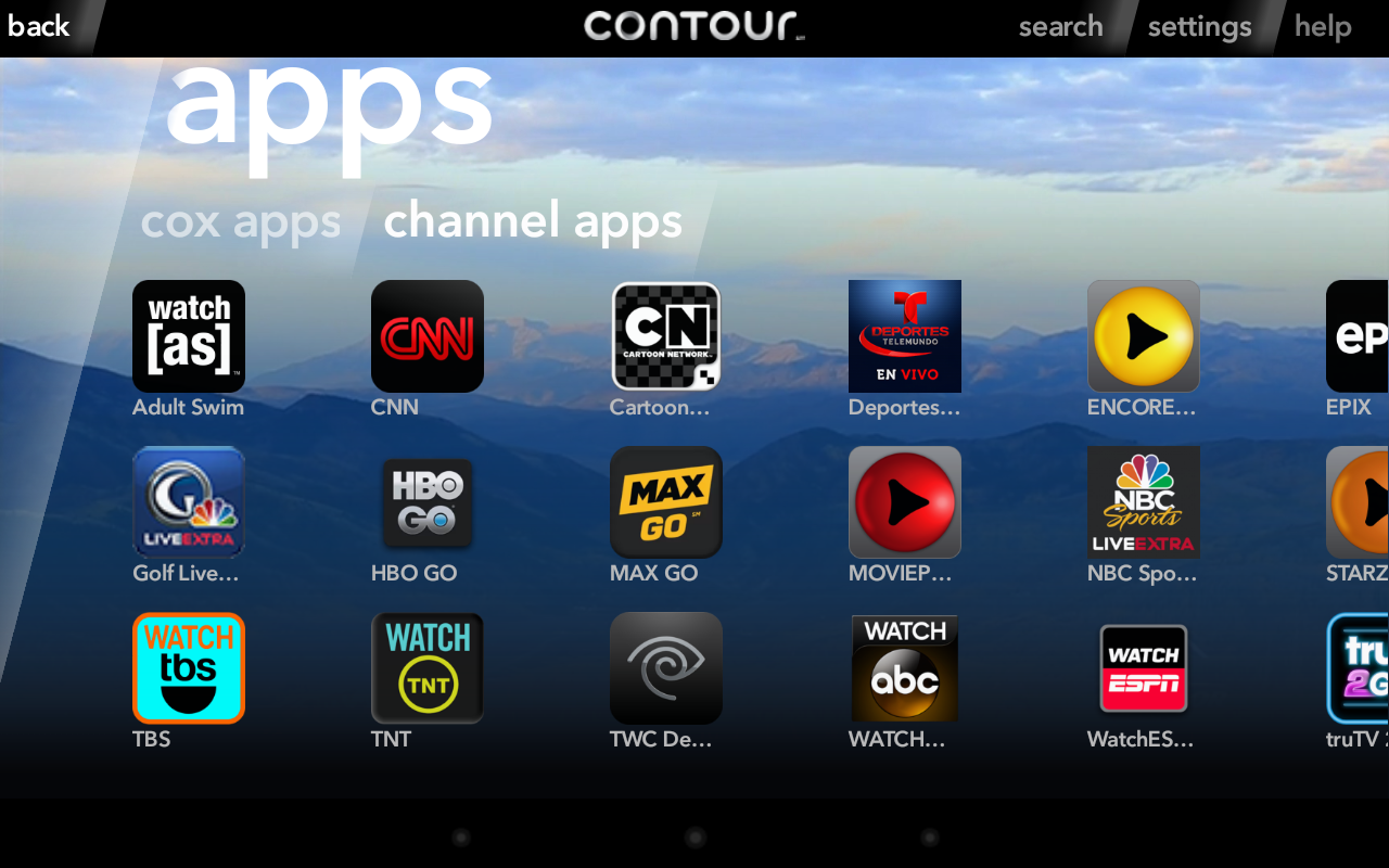 New App Cox Contour Comes To Android Provides