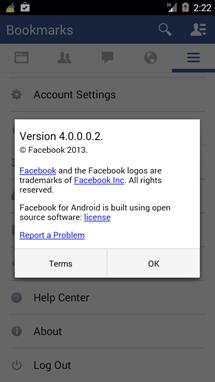 Facebook nové UI 2