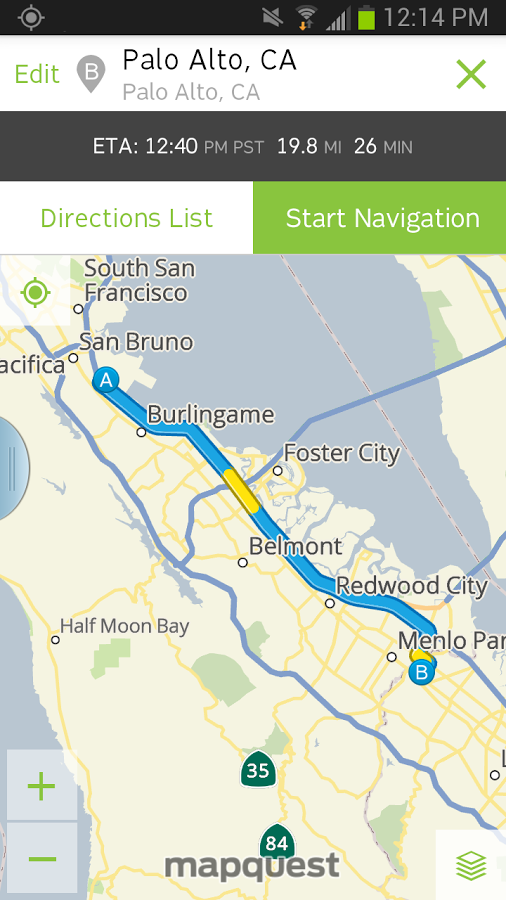 mapquest android apk