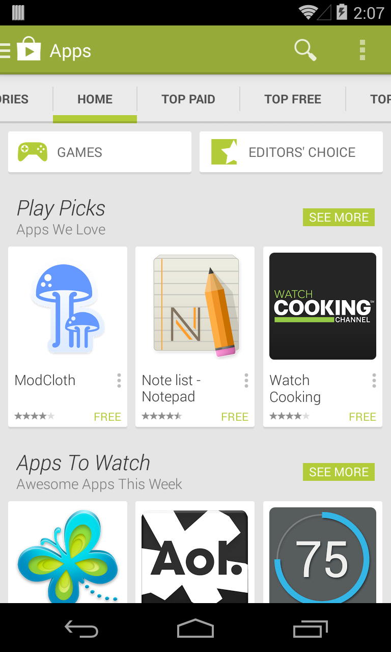 Download Latest Google Play Store 4