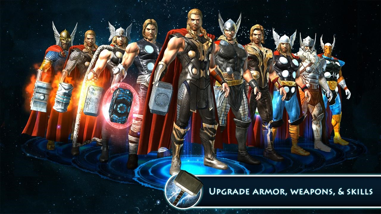 New Game] Gameloft Releases Thor: The Dark World, A Movie Tie-In With