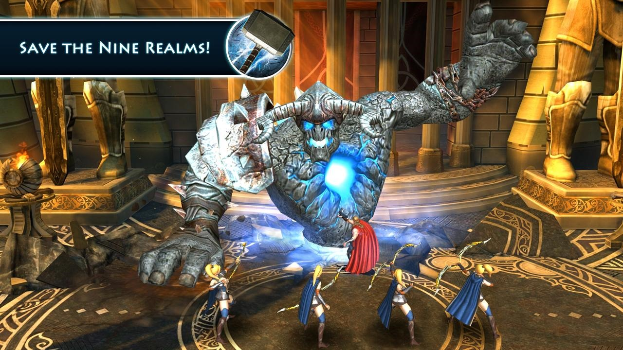 New Game] Gameloft Releases Thor: The Dark World, A Movie Tie-In