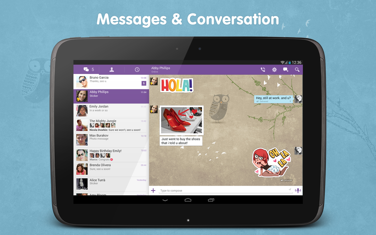 Viber Hits The Big 4 0, Gets Tablet-Optimized Interface