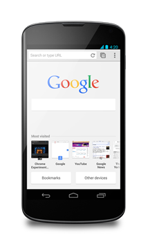 nexusae0_chrome_beta_ntp_android