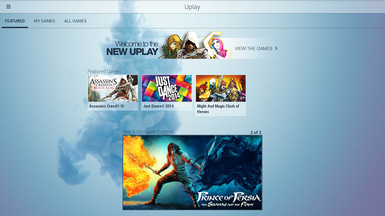New App] Ubisoft's Uplay Service Gets An Android App, So It Can