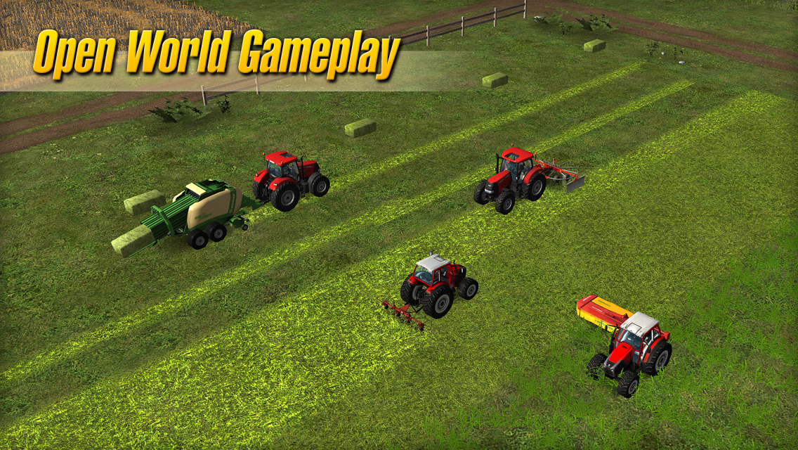 Farming Simulator 2014 is $2.99 and works on Android devices running 2