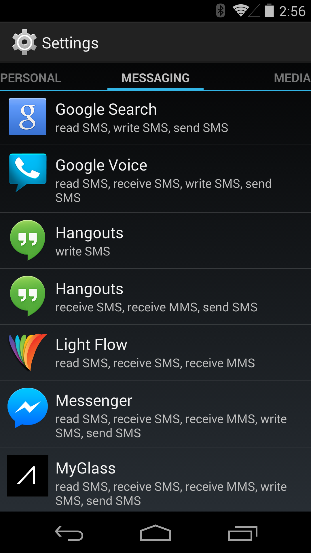 Non-Default SMS Apps In KitKat Can Still Write To The SMS