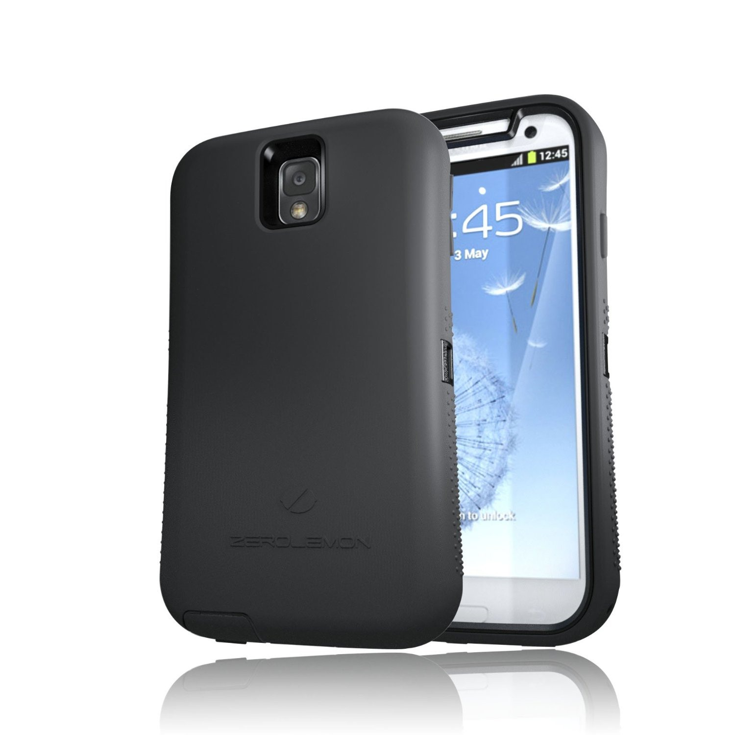 zerolemon 39 s rugged galaxy note 3 case with 10 000mah battery and nfc is finally available for. Black Bedroom Furniture Sets. Home Design Ideas