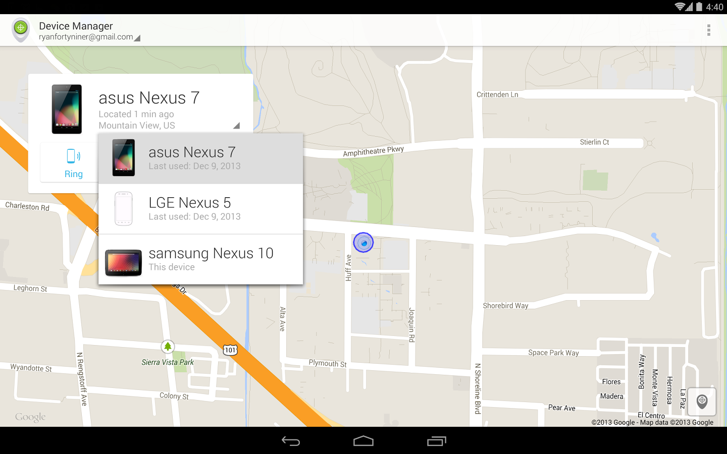 Google com android device manager