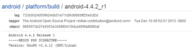 Android 4 4 2 Is Now Available In The AOSP Repositories