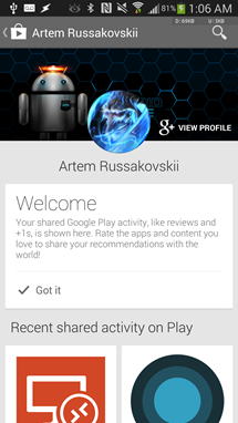 Download: Latest Google Play Store 4 5 10 With Shared Play