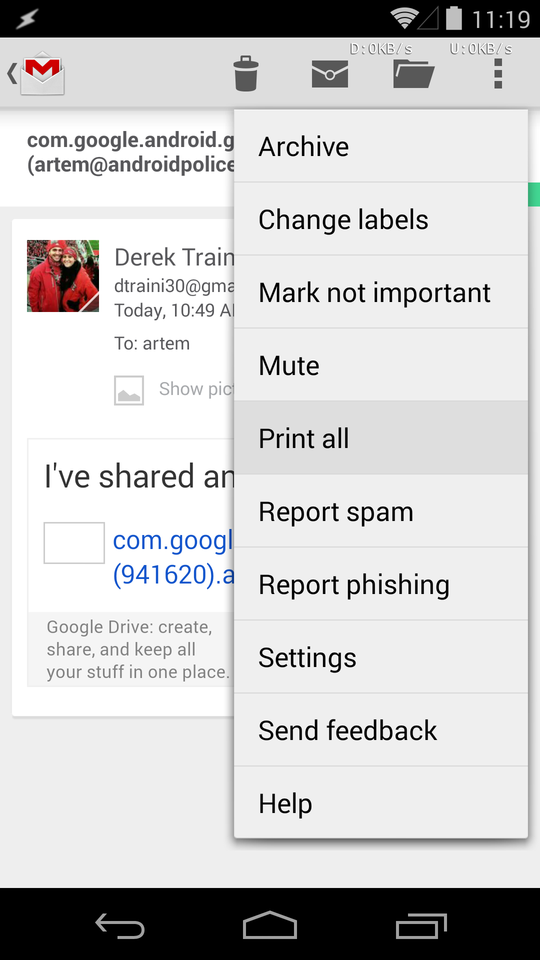 Themed gmail apk
