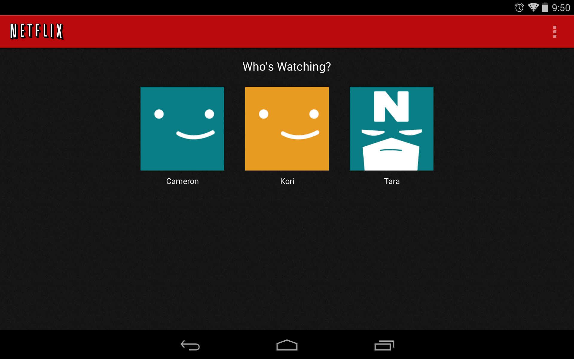 Holy Crap Finally Netflix Profiles Available In Build 3