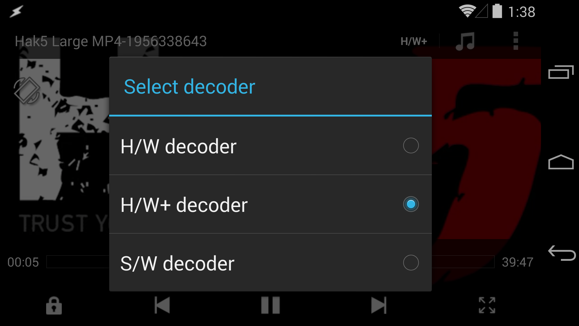 MX Player Updated To Work With Android 4 4 1 And 4 4 2