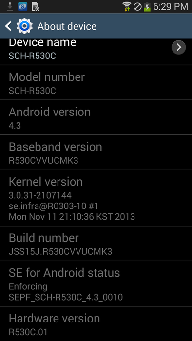 Cricket's Galaxy S III Receiving Android 4 3 Update - Brings