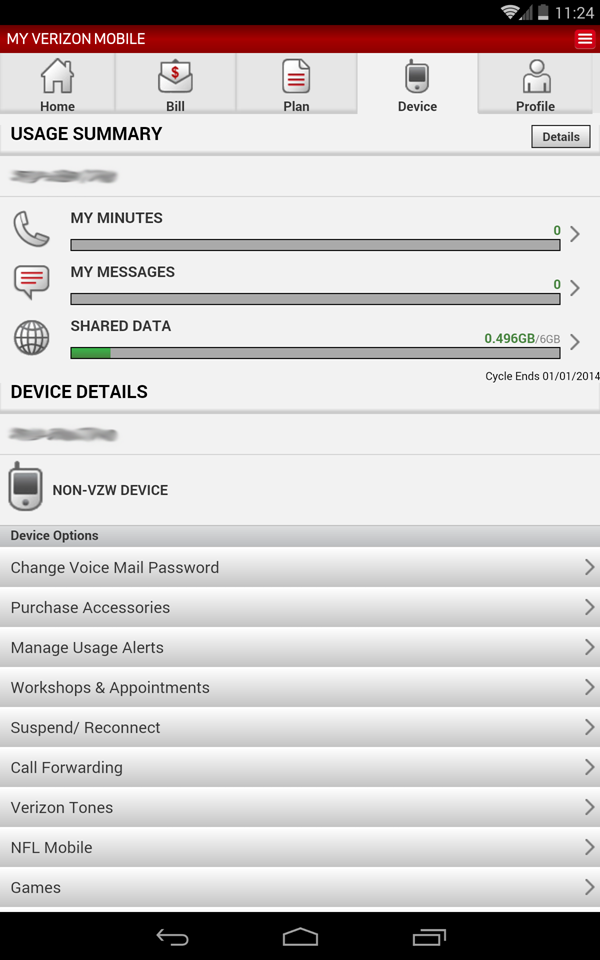 How To Activate An LTE Nexus 7 On Verizon Wireless