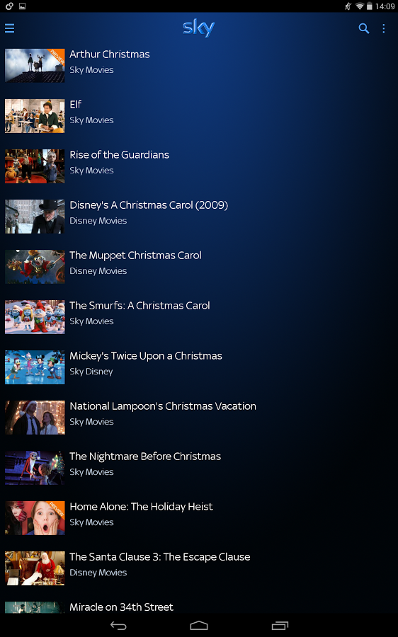 New App] Sky Go Tablet Brings Sky Streaming TV And Downloads