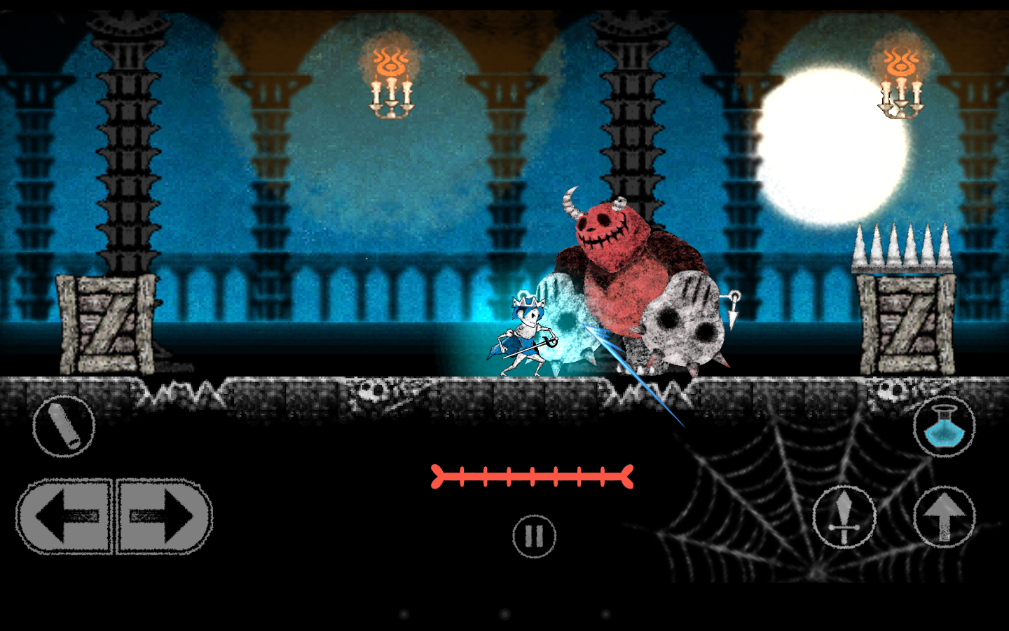 [New Game] Dokuro Is A Platformer About An Animated Skeleton, A Princess, And Charcoal