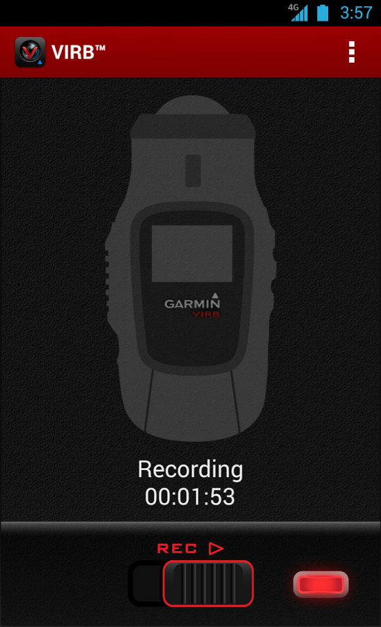 New App] Garmin VIRB App Controls And Records Video From