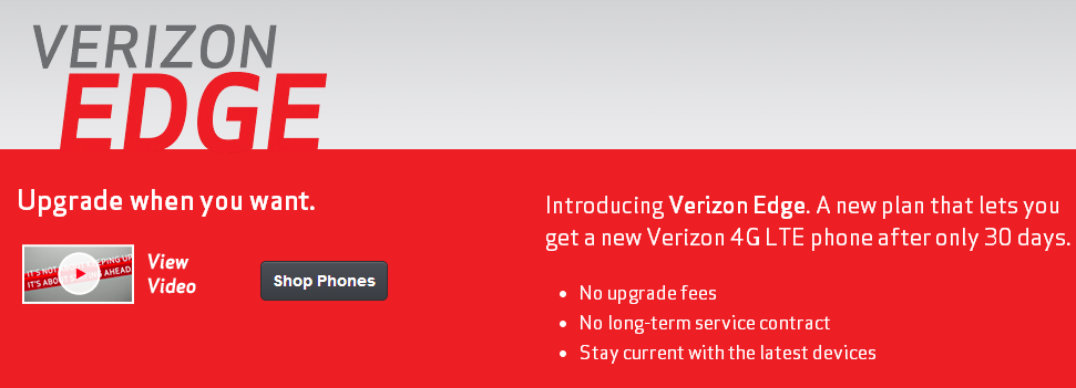 Are you a business Customers? Sign in to My Business Account or Verizon Enterprise Center to check your upgrade eligibility.