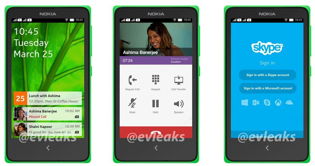 New Leaked Images Show Nokia's Vision For Android On The Normandy, Courtesy Of @evleaks