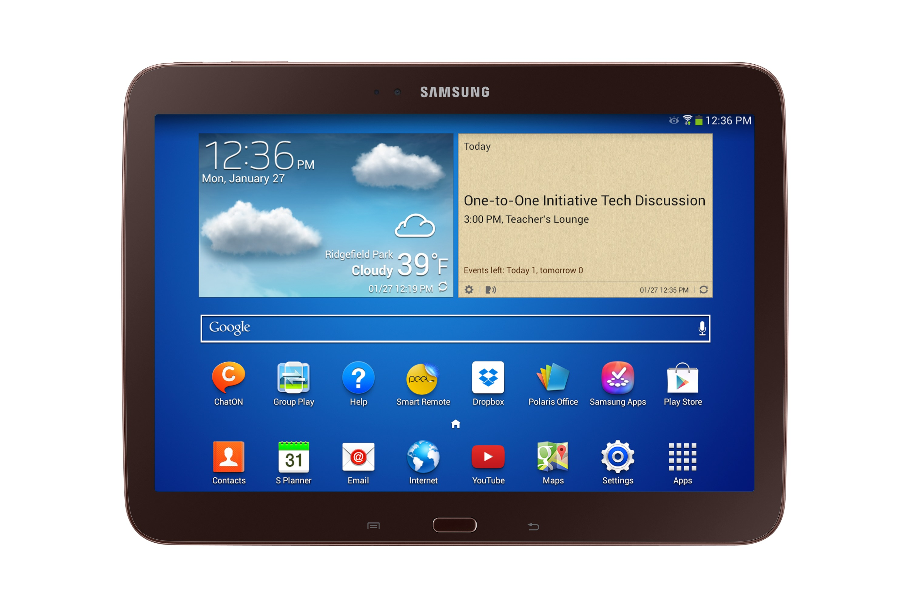 samsung announces galaxy tab for schools with google play education and android