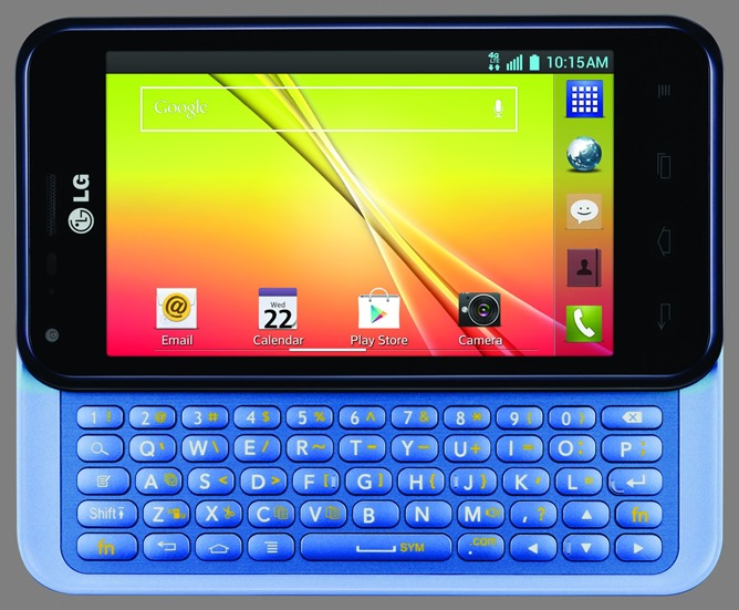 LG Optimus F3Q (horizontal keyboard)