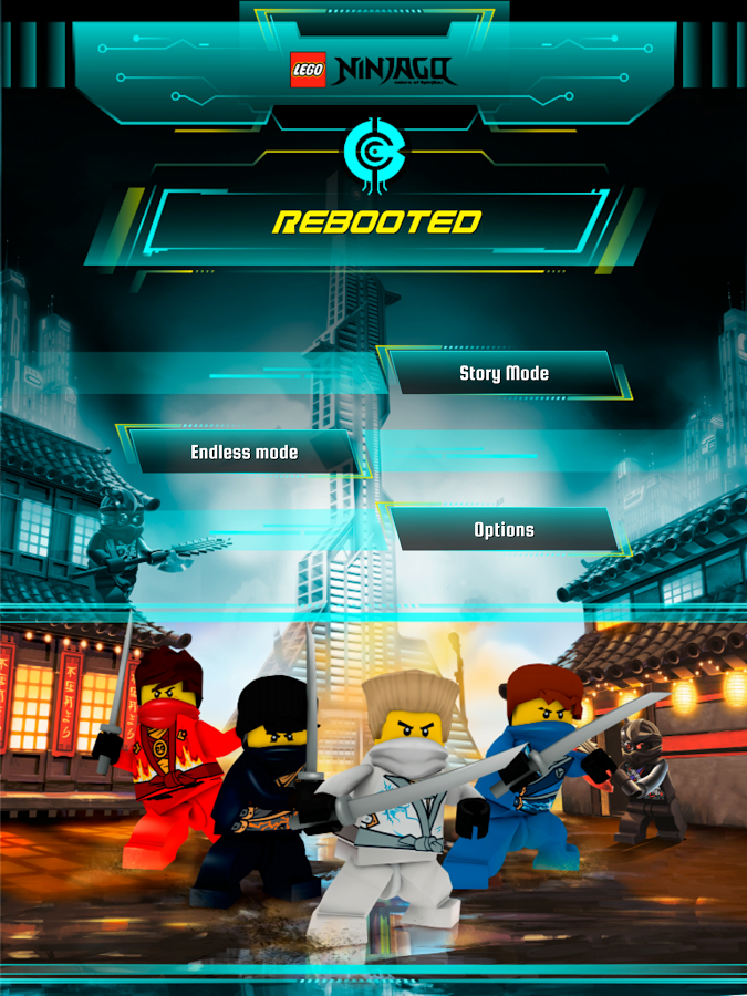 new game legos ninjago rebooted shows that even blocky