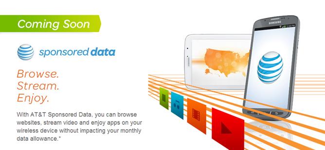 sponsored data