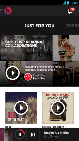 New App] Beats Music Is Live In The Play Store: 20 Million Songs
