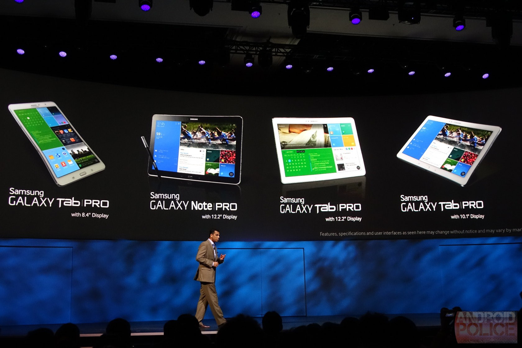 Ces 2014 Samsung Announces The 122 Inch Galaxy Notepro And Tabpro Note Pro P901 Is Essentially A Larger Version Of 101 It Has S Pen Stylus Samsungs Raft Ux Features Based Around That