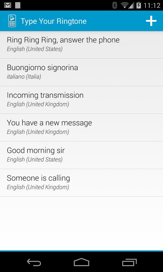 verizon ringtone good morning
