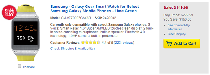 2014-02-14 09_33_12-Samsung Galaxy Gear 111957 - Best Buy