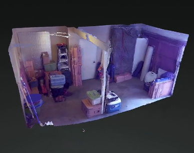 Room Mapper this is what a 3d room capturedgoogle's project tango phone