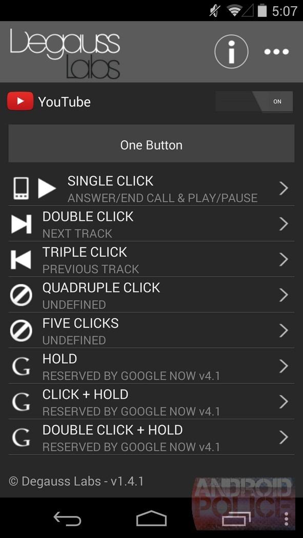 Headset Button Controller Андроид