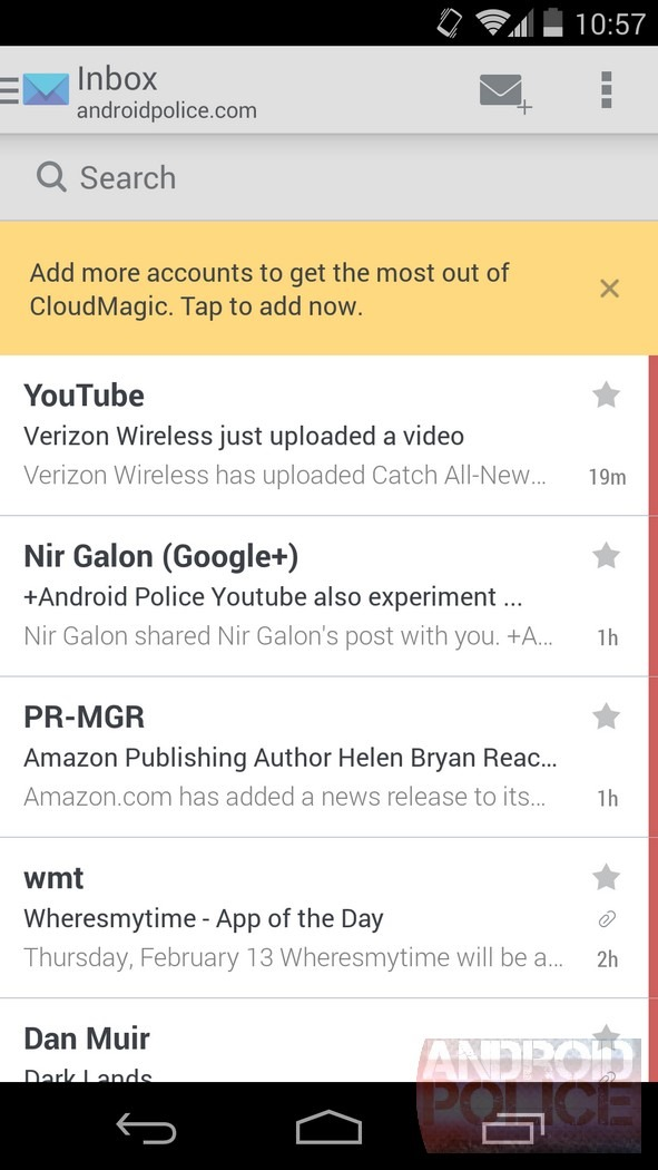 Hands-On] CloudMagic Email Client Can Search Through Your Messages
