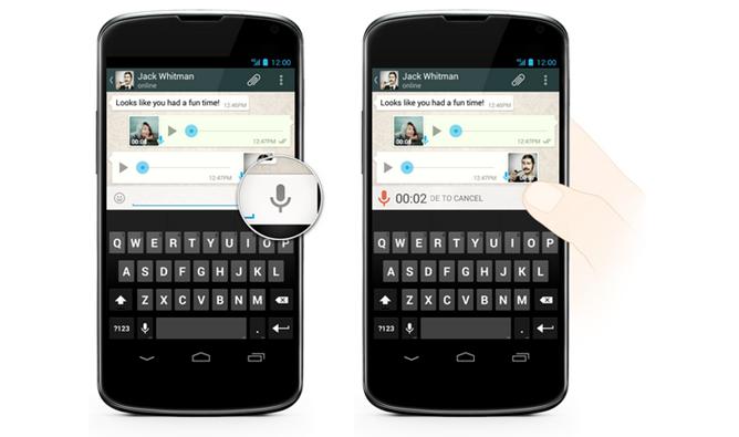 WhatsAppVoiceMessaging