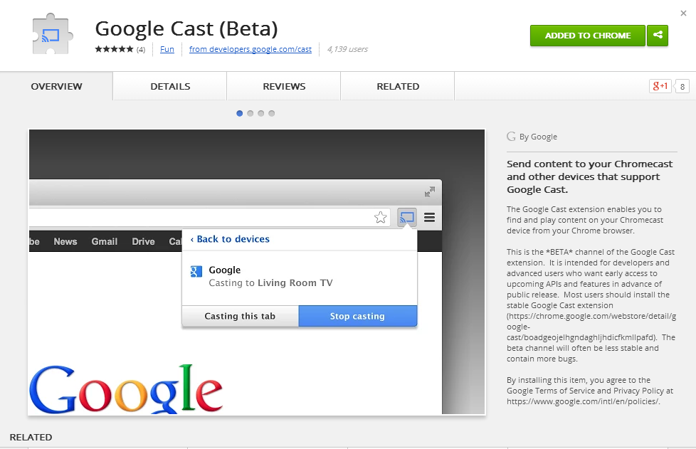 Google cast extension android download / Idlewild 2006 movie