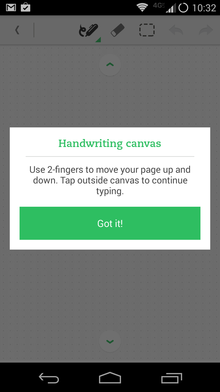 improve your handwriting app android