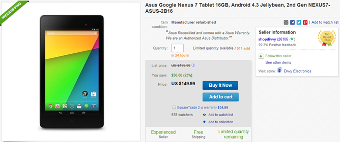 2014-03-25 08_42_45-Asus Google Nexus 7 Tablet 16GB Android 4 3 Jellybean 2nd Gen NEXUS7 Asus 2B16 8