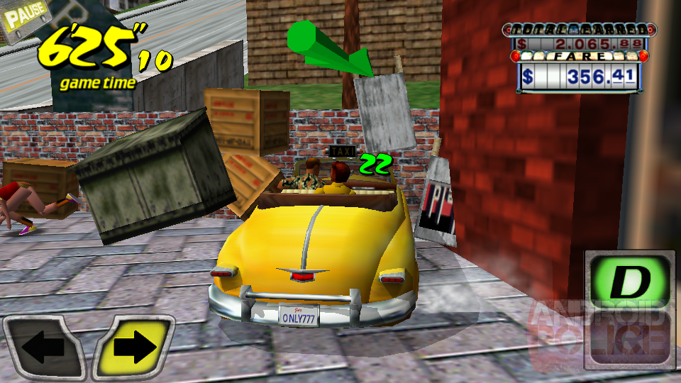 Sega Offers Crazy Taxi For Free In The Play Store To Hype Up